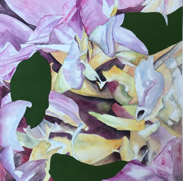 #WorldWatercolorGroup - Watercolor Painting by Lynda DeGrow Kingsley - Doodlewash