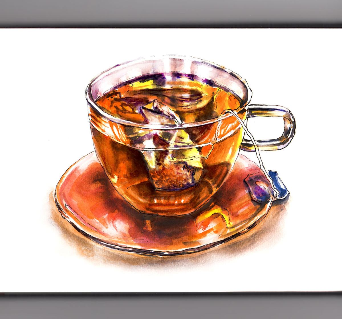 World Watercolor Group - Day 3 - My Favorite Cup - Doodlewash