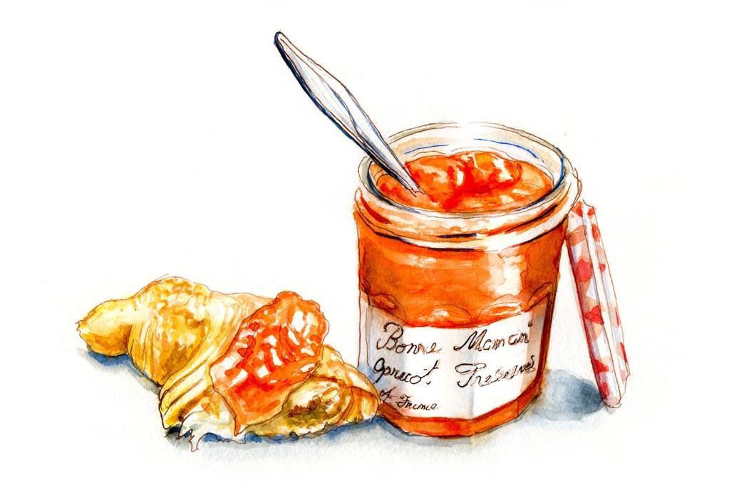 doodlewash opening a new jar of jam