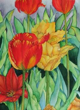 #WorldWatercolorGroup - Watercolour Painting - Saswati Chakraborty - Doodlewash