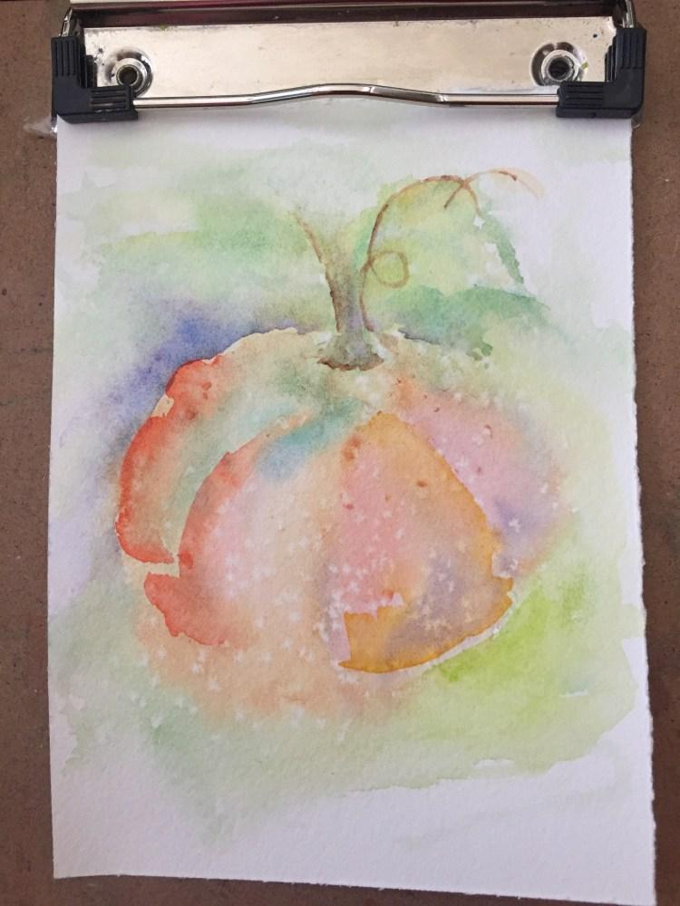 Sept 7. Getting new art supplies. DaVinci watercolors. IMG_3304