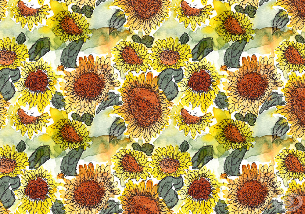Repeating pattern example by Eileen McKenna