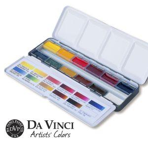 Da Vinci Paint Co. 12 Color Travel Palette