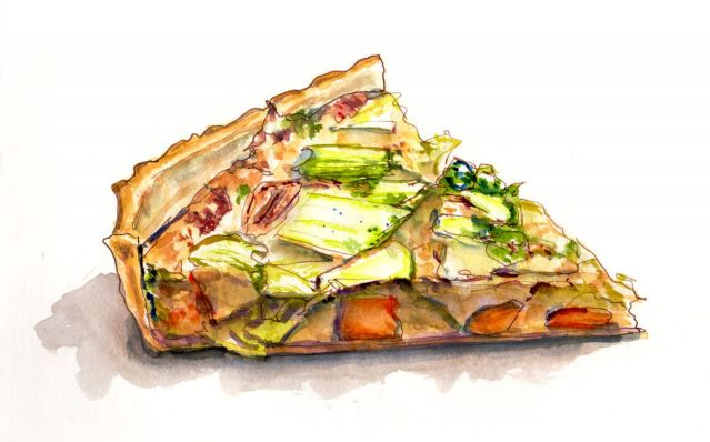 Day 12 - A Bit Of Autumn Quiche