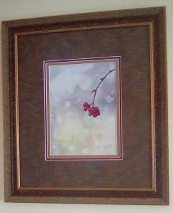 The first painting I have done that I liked well enough to get framed. IMG_20171002_100230_kindlepho