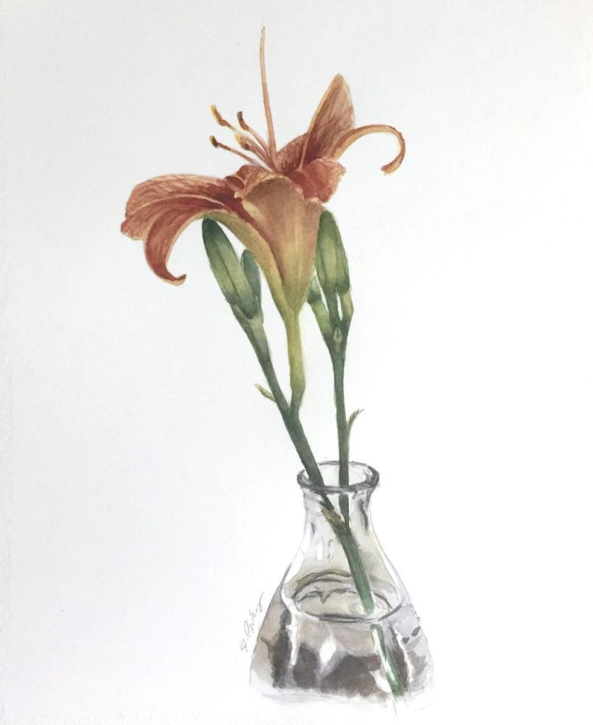 Lily in a Glass Vase fullsizeoutput_1d5f