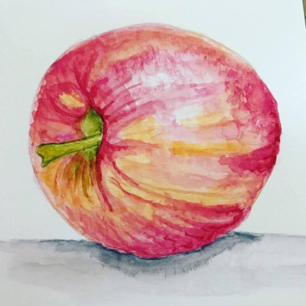 My apple for the November challenge. 6699538B-6DFA-4898-B126-32E4E988E4C2