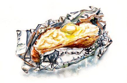 Day 7 - Baked Potato