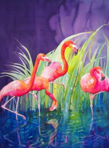 #WorldWatercolorGroup - Watercolor by Violeta Damjanovic-Behrendt - Doodlewash