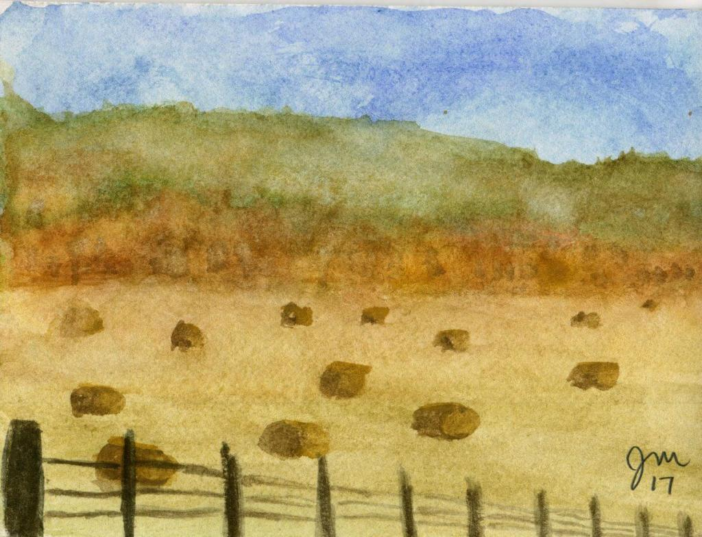 Trying to paint some fall scenes. Watercolor08