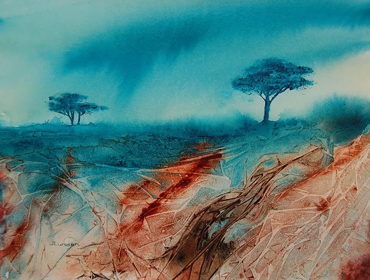 "GUEST ARTIST: ""The Luminosity Of Watercolors"" by Jean Lurssen"
