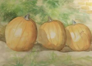 My latest are these three pumpkins in a row. fullsizeoutput_af6
