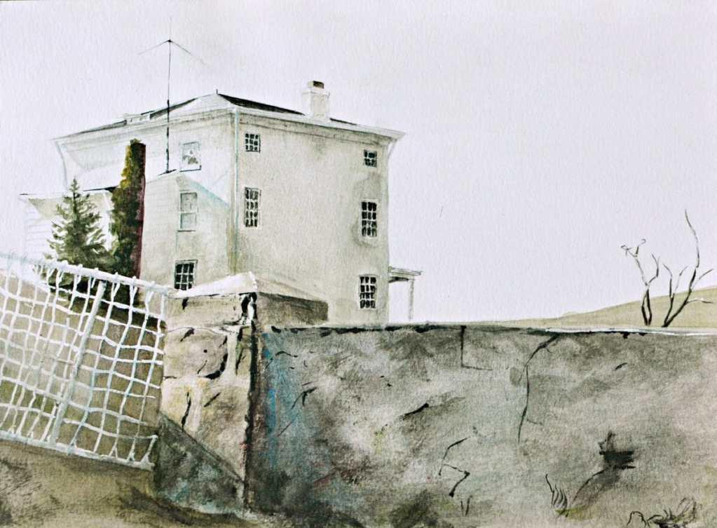 Study on Andrew Wyeth 68