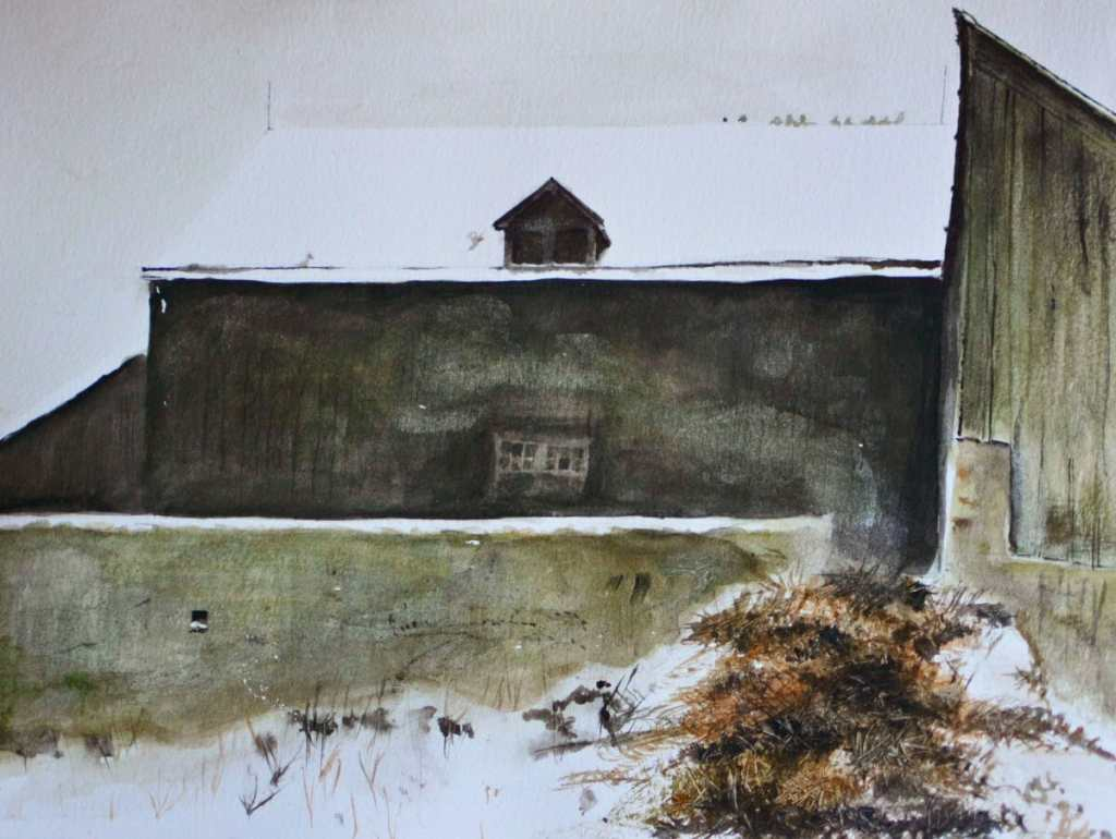 Study on Jamie Wyeth 69