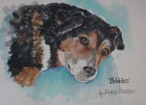That is why I concentrate on pet portraits. It gives me such joy to do a portrait and see the look o