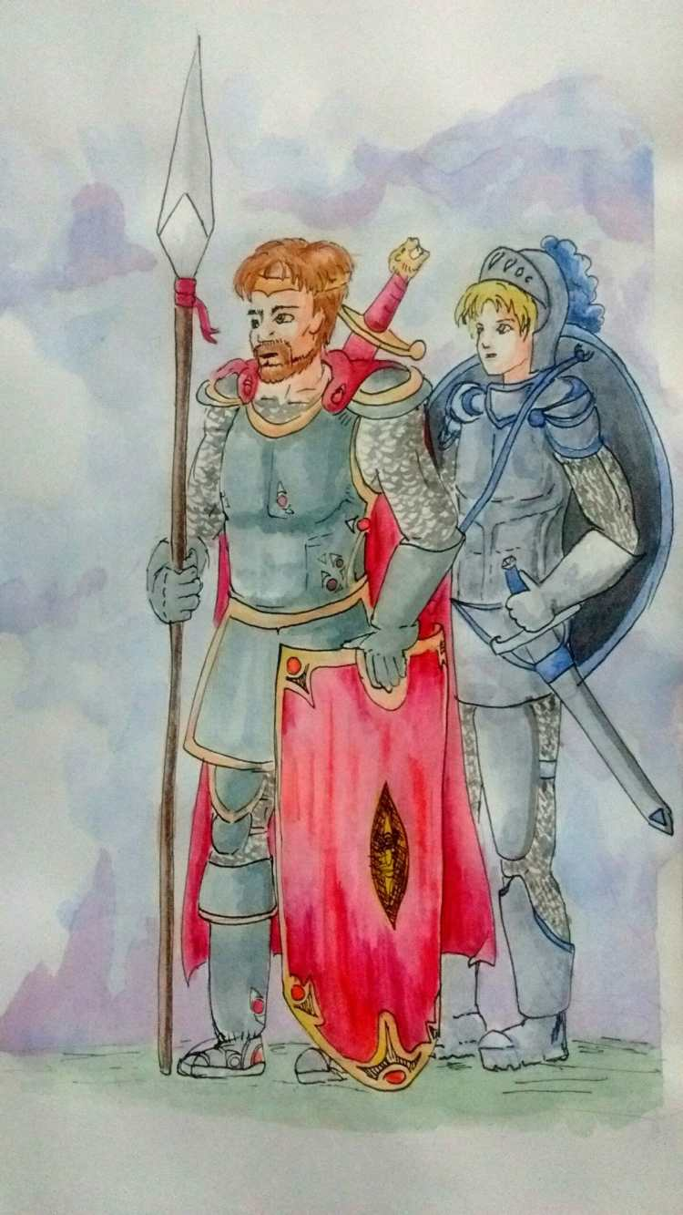 King Arthur and Lancelot attempt haha hope you like it 😀 king_arthur_by_saironwen-dby55s6