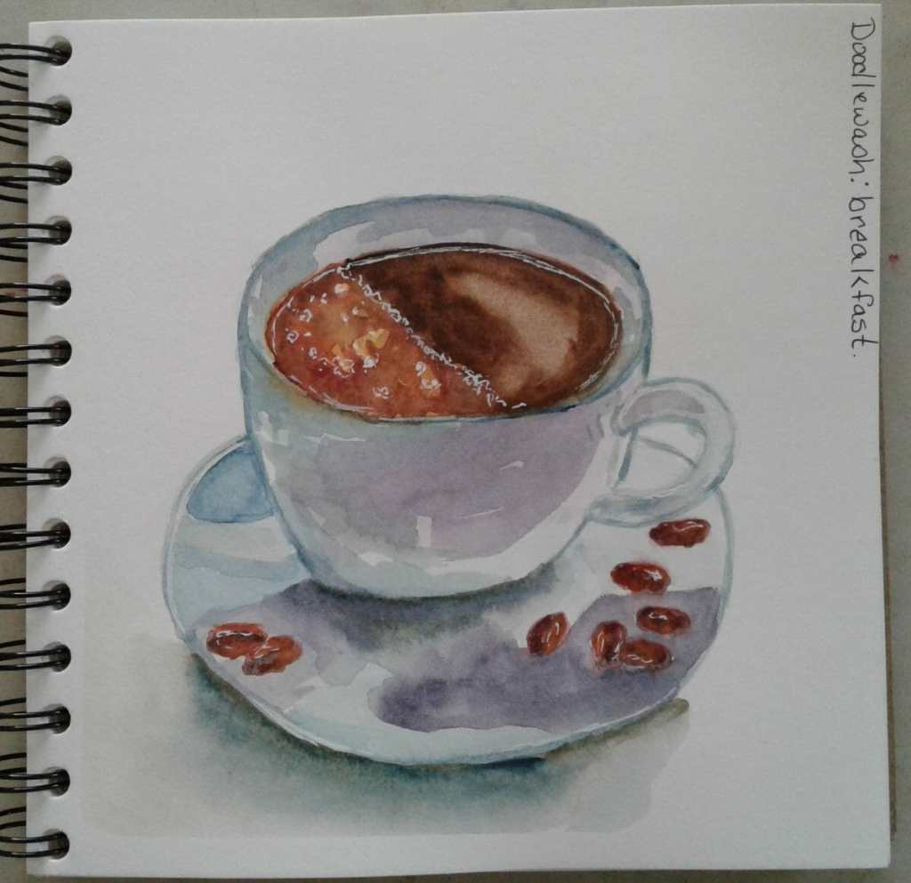 """Day 184…breakfast. First prompt of the new year was """"breakfast. January's theme is"""