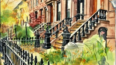 #WorldWatercolorGroup - Watercolor by Nancy Wait - Doodlewash