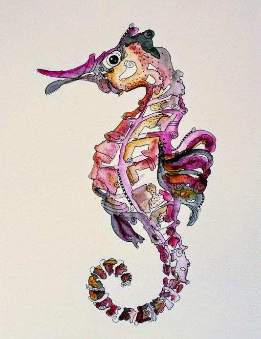 #WorldWatercolorGroup - Watercolor by Kari Hegdahl - Doodlewash
