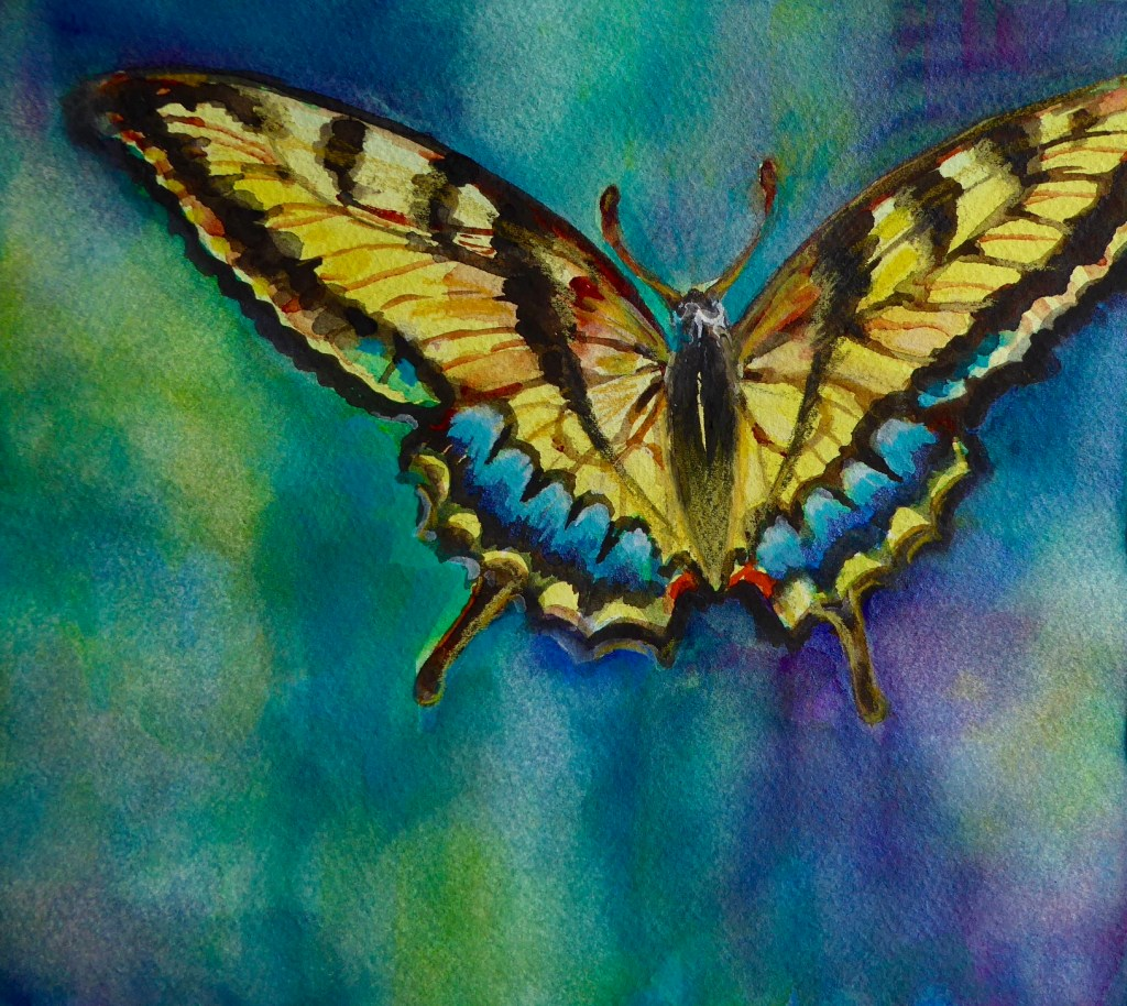 I began my Healing Series of watermedia paintings in 2008, when a dear friend lost her battle with c