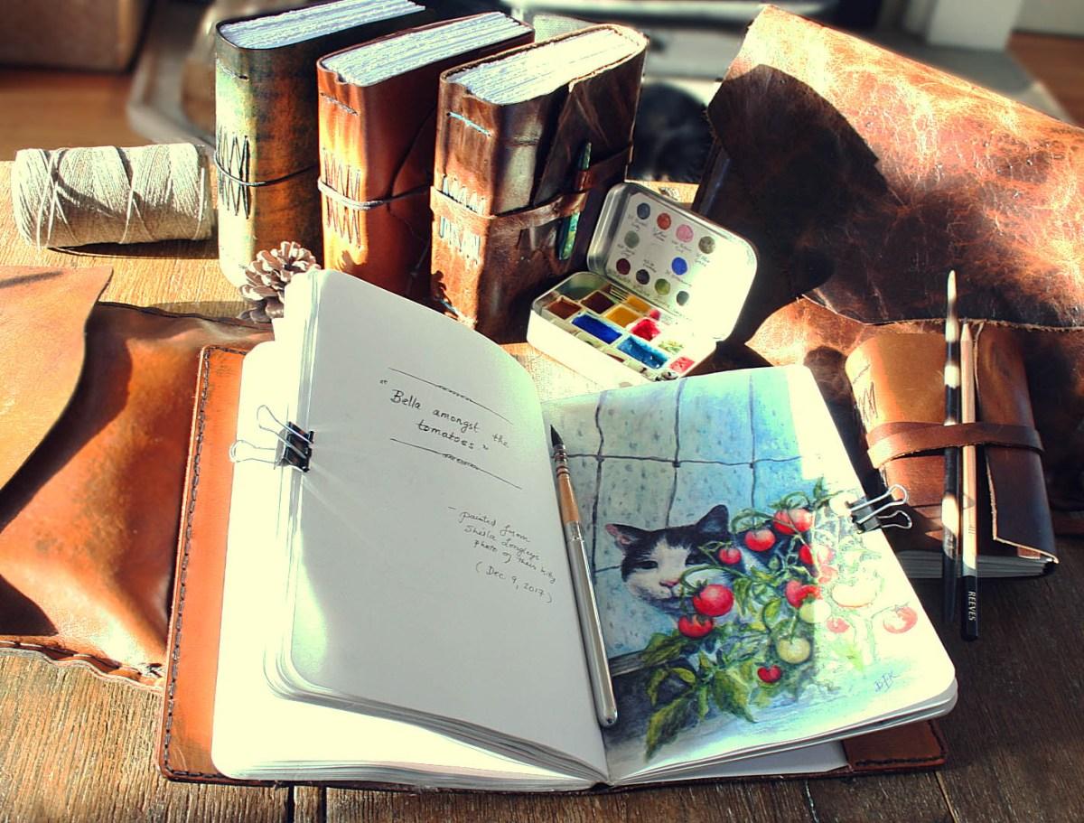 #WorldWatercolorGroup - Watercolor Sketchbook by Beverly Wong-Kleinjan - Doodlewash