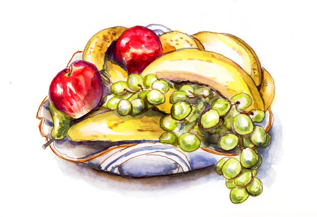 rGroup - Day 3 - Fruits Still LIfe - Doodlewash