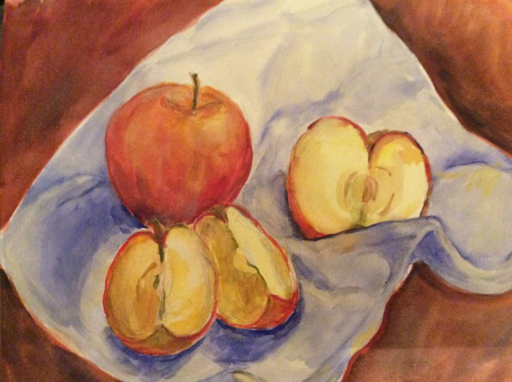 Apples are one of my fave snacks. (I'm getting a jump on the March challenge). FC616718-8A77-4DCE-