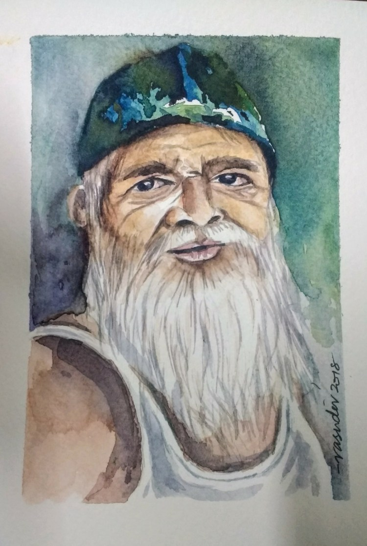 I could see a mix of emotions on his face and thought it was good to capture in a watercolor.. IMG_2