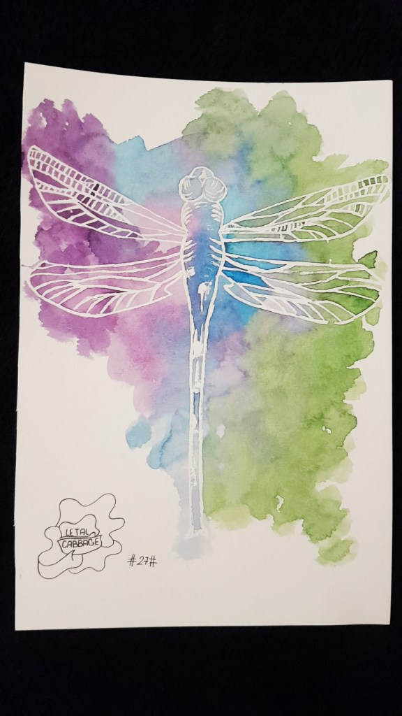 🌼 Dragonfly 🌼 | 27th challenge! Tomorrow the last one 😄 IMG_20180227_2208243