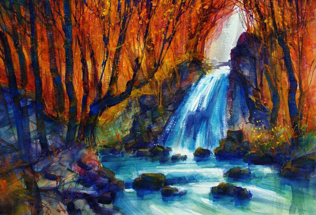 046_2018 Watercolor / Fabriano Artistico grana grossa / rough – 300g/m / 140 lbs – ca. 56 x 38 c
