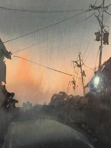 #WorldWatercolorGroup - Watercolor Painting by Gareth Naylor - Doodlewash