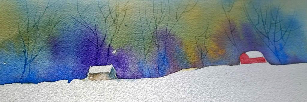 #WorldWatercolorGroup - Watercolor by Eunice Miller - Doodlewash