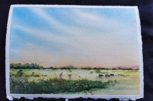 I primarily doodle and paint landscapes. Watercolor3