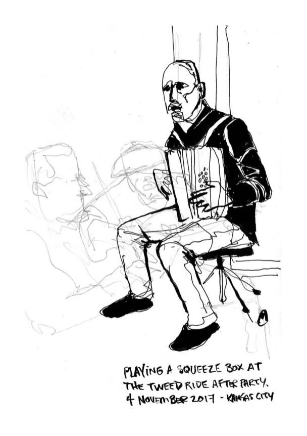 Urban Sketch by Mark Anderson - Doodlewash