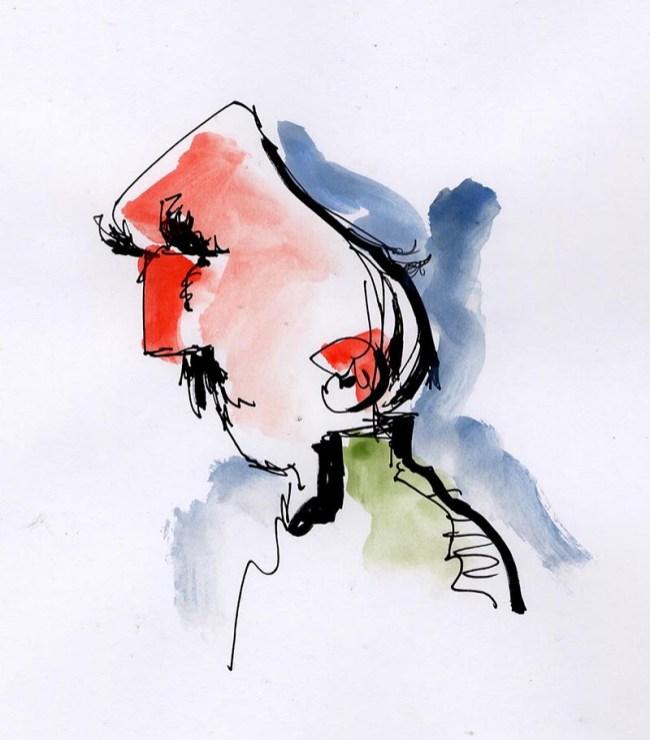 Watercolor Sketch by Mark Anderson - Doodlewash