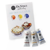 Charlie's Shiny Da Vinci Watercolor Trio