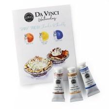 Charlie's Shiny Da Vinci Watercolor Trio