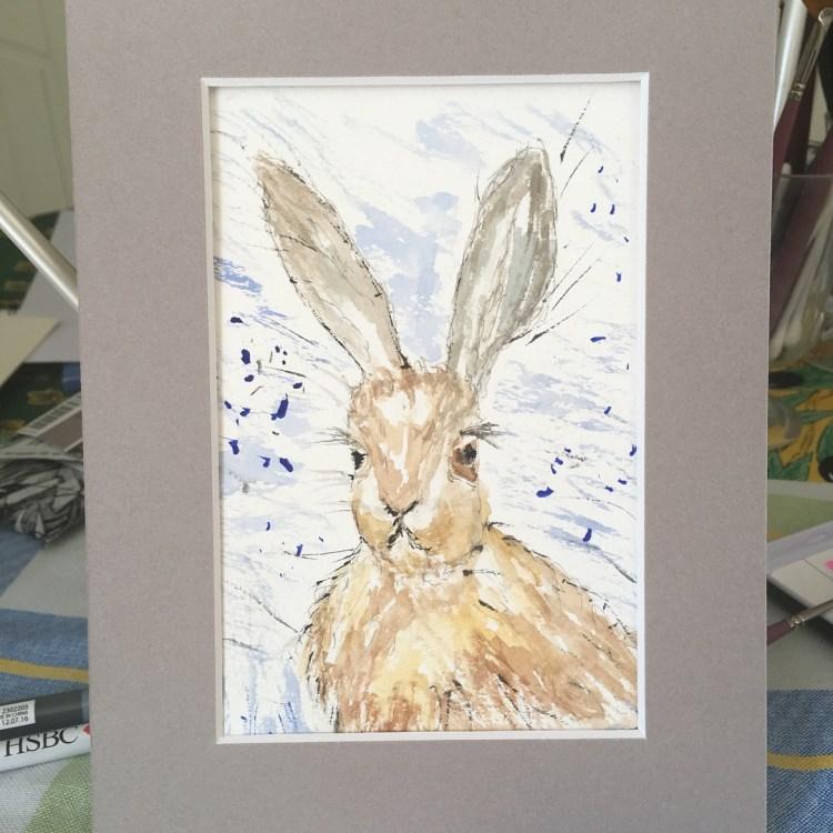 Hello again… got my watercolour painting head back on…. E543E931-A3E3-41A3-B366-25BB38E3