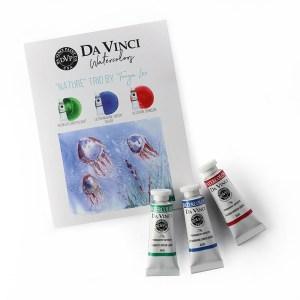 """Tony Lee """"Nature"""" Da Vinci Watercolor Trio"""