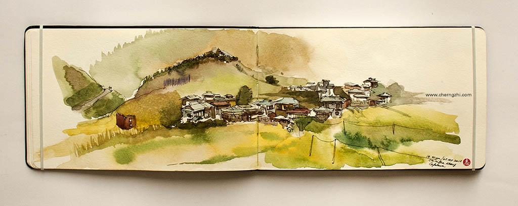 Watercolor Sketch by Erwin Lian - Doodlewash - Urban Sketchers