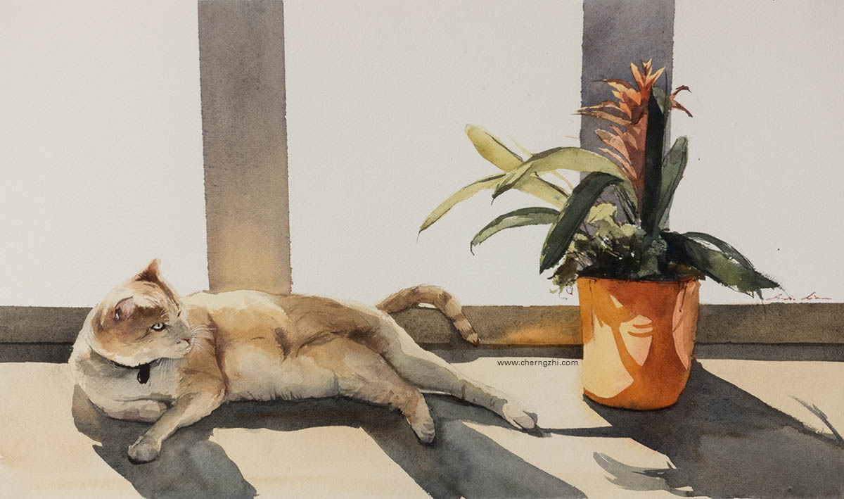 Watercolor Painting by Erwin Lian - Doodlewash - Urban Sketchers