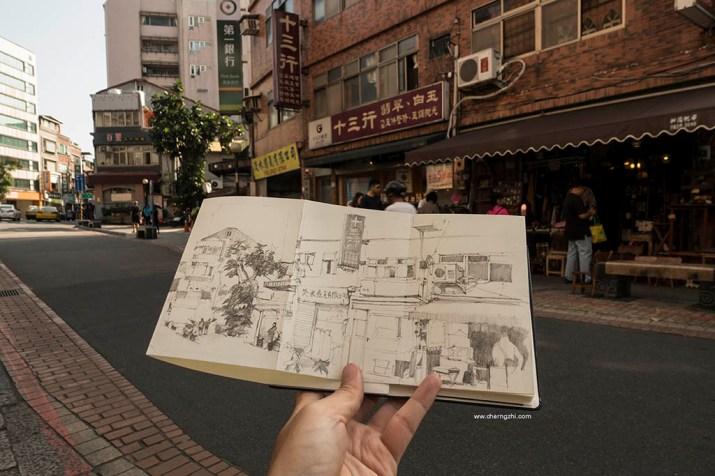 Sketch by Erwin Lian - Doodlewash - Urban Sketchers