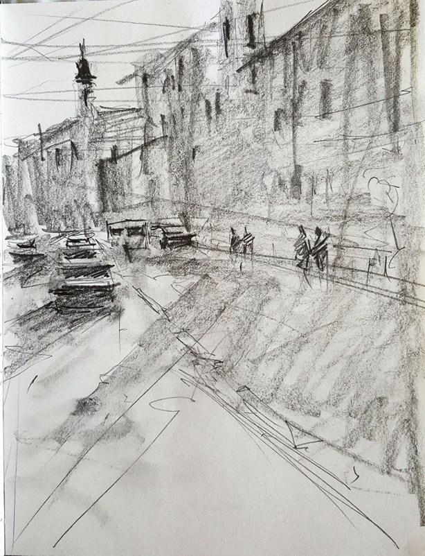 Sketch by Alexandros Pintilii Karciucas - Doodlewash