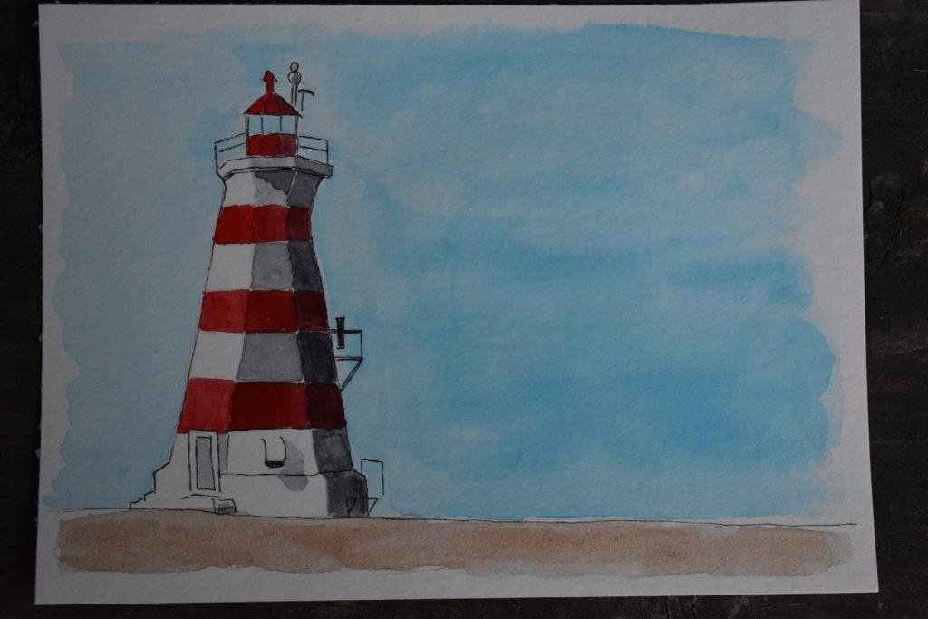 May 10, 2018 challenge lighthouse. A Nova Scotia lighthouse. DSC_3308