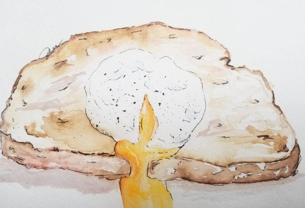 Breakfast doodlewash May challenge day 3. IMG_20180503_185618_791