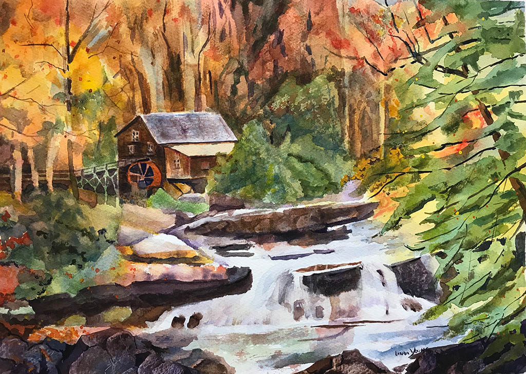 Watercolor by Linda Young - Doodlewash #WorldWatercolorGroup