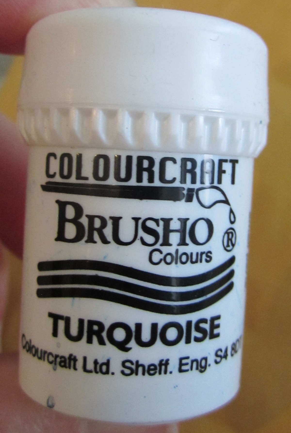 Brusho Crystal Colours Turquoise