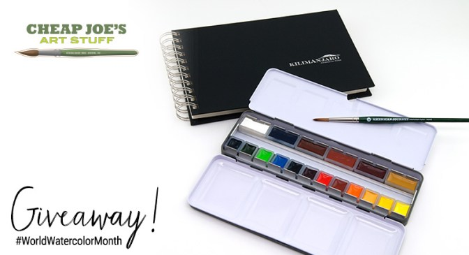 Cheap Joes World Watercolor Month Giveaway 1