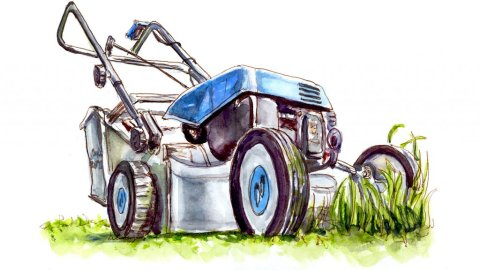 Day 2 - The Return Of The Lawnmower - #doodlewashJune2018 Doodlewash