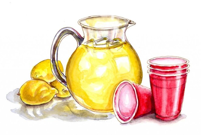 Day 22 - Summer Memories Of Lemonade - #doodlewashJune2018 Doodlewash